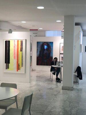 Es Arte Gallery at JUSTMADX, installation view