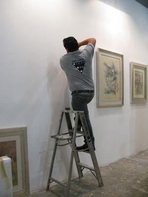 Oscar Roman at Zona MACO 2014, installation view