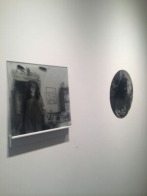 "Rick Fox ""In the Thick"" / Jaclyn Kain ""A Silent Rebellion"", installation view"