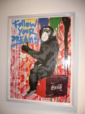 Mr. Brainwash and other Street Art, installation view