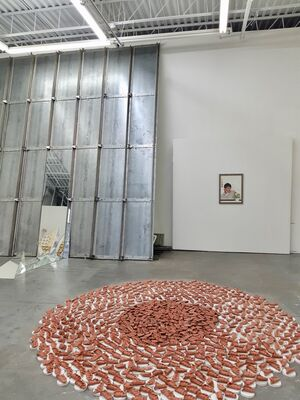 8th Anniversary, installation view