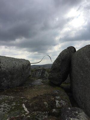 """Waves in Landscape"", installation view"