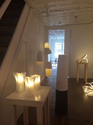 Light: Fixtures and Sculptures, installation view