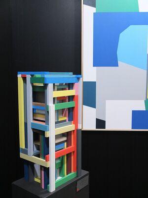 EBONY/CURATED at Turbine Art Fair (2016), installation view