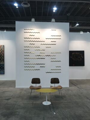 Federico Luger (FL GALLERY) at ZⓈONAMACO 2019, installation view