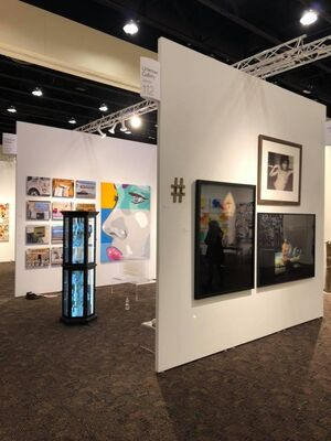 Unknown Gallery at Art Palm Springs 2019, installation view