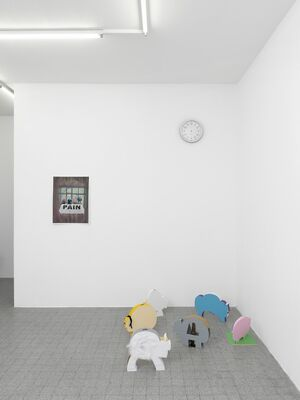You have everything to learn, everything that can not be learned,, installation view