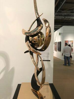 CGB Fine Art at Art New York 2018, installation view