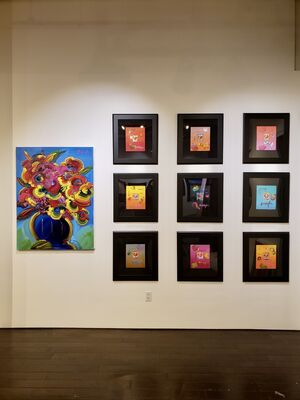 Peter Max - The Retrospective / Back to Woodstock - 50th Anniversary, installation view