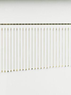 Alicja Kwade: GoldVolks, installation view