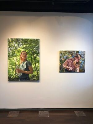 For The Love Of Painting, installation view