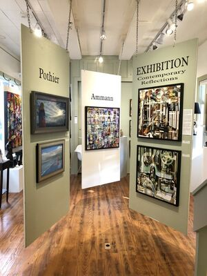 """""""Contemporary Reflections"""", installation view"""