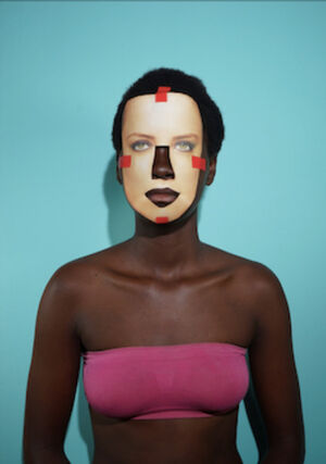 AFROEUCENTRIC FACE ON - Amber 03