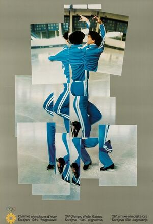 Skater (XIV Olympic Winter Games, Sarajevo) (Baggott 135)