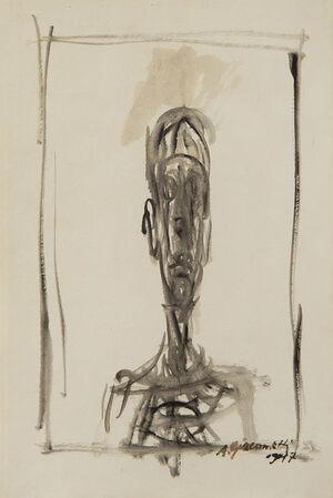 Buste d'homme, Portrait de Diego