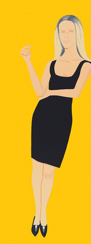 Alex Katz, 'Black Dress VI, Yvonne (series)', 2015, Print, Screenprint, Nikola Rukaj Gallery