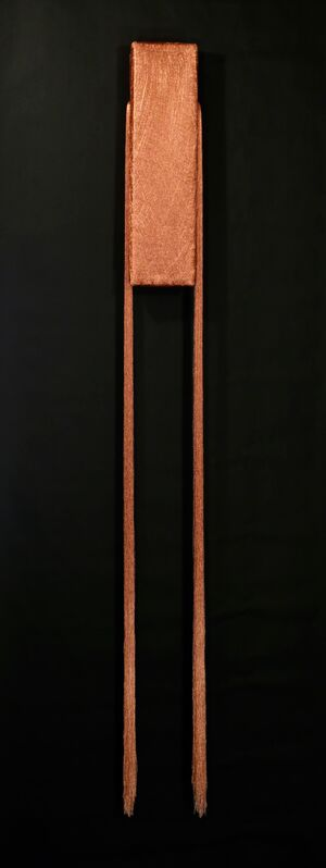 Alice Anderson, 'Computer keyboard', 2016, Sculpture, Computer Keyboard and copper wire, Collectionair