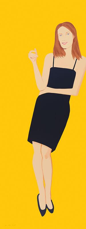 Alex Katz, 'Black Dress IV, Sharon, (series) ', 2015, Print, Screenprint, Nikola Rukaj Gallery