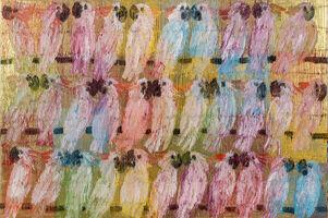Hunt Slonem, 'Original Mulucans Bird Painting Contemporary Art', 2020