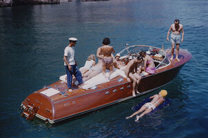Slim Aarons, 'Holiday In Capri', 1958