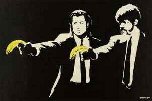 Banksy, 'Pulp Fiction', 2005