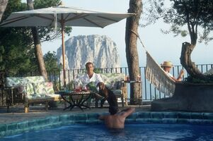 Slim Aarons, 'Capri Hotel', 1989