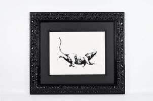 Banksy, 'GDP Rat', 2019