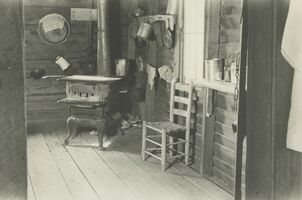Walker Evans, 'Kitchen in Floyd Burroughs's Home, Hale County, Alabama', 1936