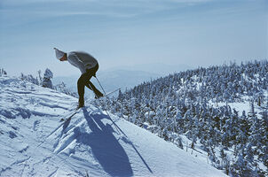 Slim Aarons, 'Sugarbush Skiing', 1960