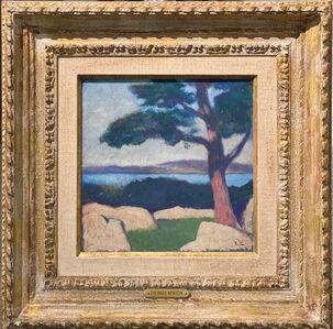 Thomas Hart Benton, 'Hudson River View', 1912