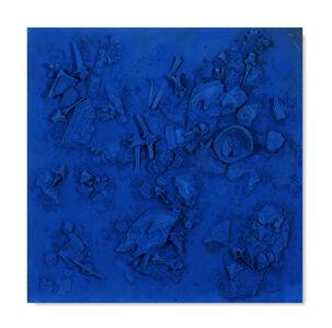 Yasmina Alaoui, 'Blue Square #1', 2017