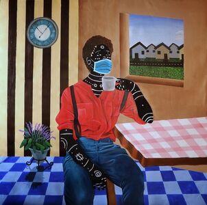 Kelechi Nwaneri, 'Face Mask', 2020