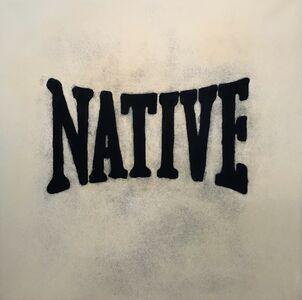 Michael Holman, 'White Native', 2017