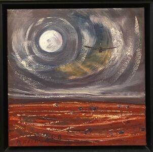 Robert Fisher, 'Red Centre Moon Flight'
