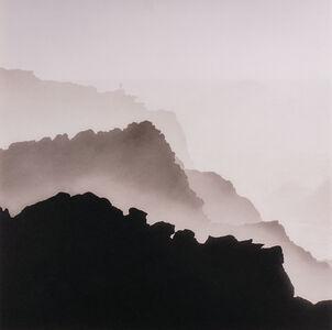 Jeffrey Conley, 'Figure and Coastal Mist, Oregon', 2018