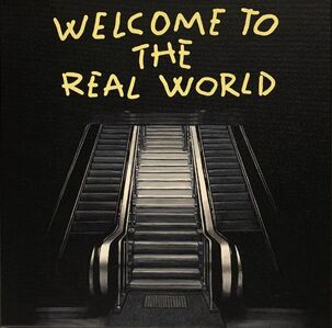 "Alejandro Monge, '""BLACK SERIES: WELCOME""', 2019"