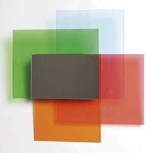 Johanna Grawunder, 'A wall mirror from 'Colour on colour' series for GLAS ITALIA', 2010
