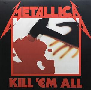George Mead, 'Metallica 'Kill Em All'', 2019