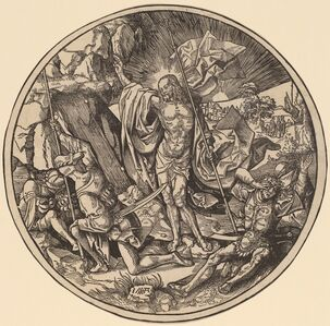 Jacob Cornelisz van Oostsanen, 'The Resurrection', 1514