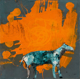 Casey McGlynn, 'Abstract Impressionism Horse', 2019
