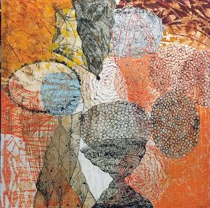 Eva Isaksen, 'Orange Core', 2014