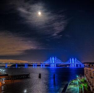 Jeffrey Friedkin, 'Blue Moon Over the Hudson', 2020