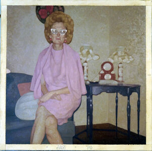 Colin Chillag, 'Being There Then (seated woman)', 2017