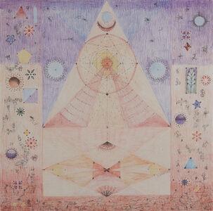 "Solange Knopf, 'Serie ""Cosmos"" No. 5', 2019"