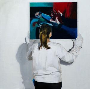 Ruxue Zhang, 'Blue Gloves', 2019