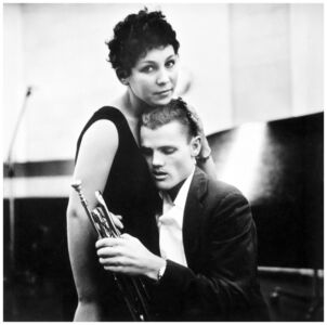 William Claxton, 'Chet Baker and Lili, Hollywood', 1955