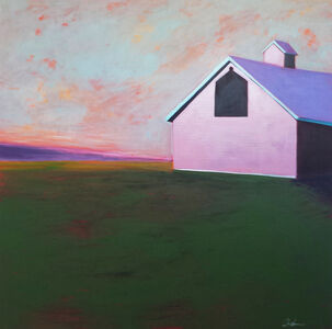 Melissa Chandon, 'Adirondack Barn', 2014