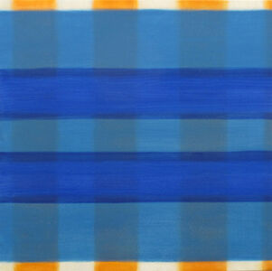 Joan Mellon, 'Blu Orange Blu', 2010