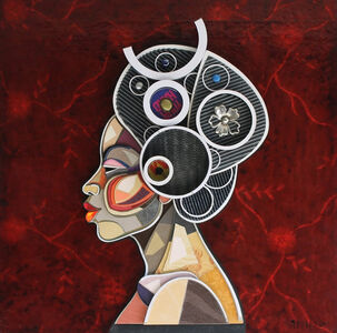 Abelardo Hernandez, 'African Profile', 2015