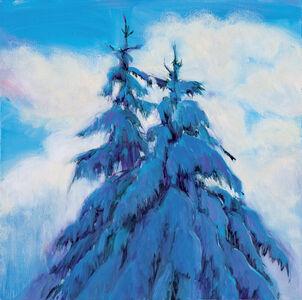 Jim Schantz, 'Winter Morning, Twin Pines', 2018